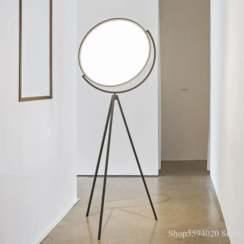 Simple Modern Art Decoration Floor Lamp Living Room Design Globe Eye Protection Tripod Floor Lamp Standing Lamp Lamparas De