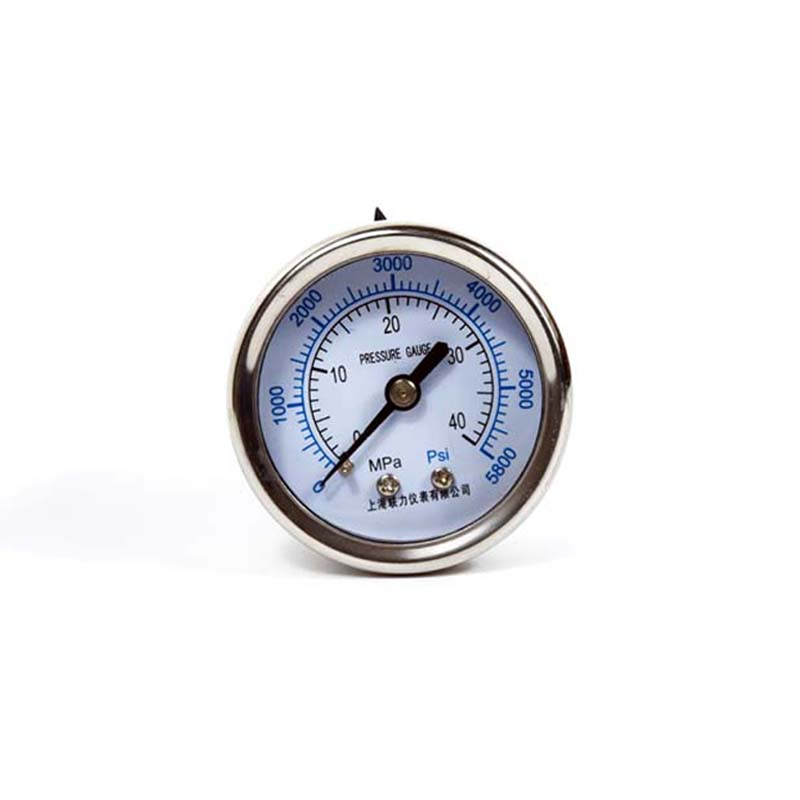 PCP Paintball Manometer High Pressure Gauge 600BAR/5800PSI 50MM Back/Side Connection
