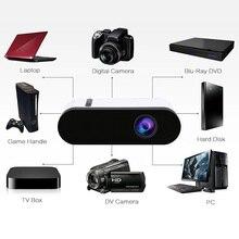 Горячая Распродажа GC20 светодиодный мультимедийный проектор 500 люмен 3,5 мм аудио 320x240 пикселей HDMI USB Мини проектор домашний подарок на Рождество