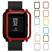 Funda protectora para reloj Xiaomi Huami Amazfit Bip Bit, carcasa para reloj de PC, accesorios para relojes Amazfit Bip