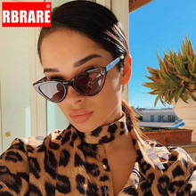 RBRARE 2019 Cat Eye Shade For Women Sunglasses Vintage Trans