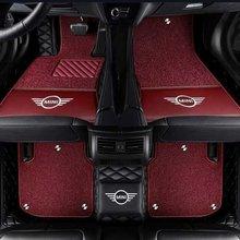 Aliexpress best sale Hot sale custom cleaning 3d 5d coil leather car mat