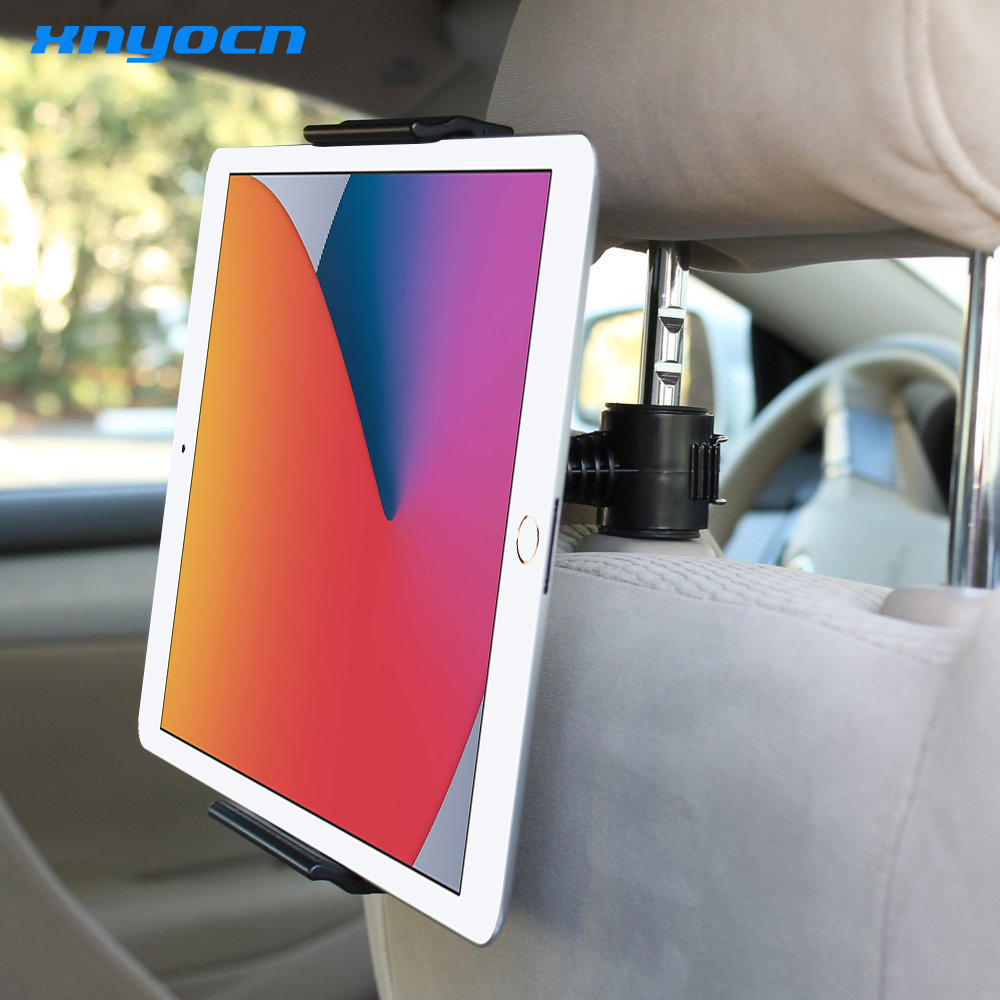 Universal Car Back Seat Headrest Mount Holder Table Holder for IPad Mini/1/2/3/4/Air Pro Xiaomi Samsung Pad S8 Plus Tablet PC