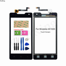 Touch Screen For Bmobile AX1020 Digitizer TouchScreen Panel Front Glass Lens Sensor Tools 3M Glue