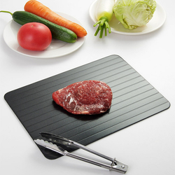 Multiple Functions Fast Thaw Board Meat Steak Fruit Vegetable FreezingFish Seafood Home Use Quick Defrost Flat Tray Kitchen Tool