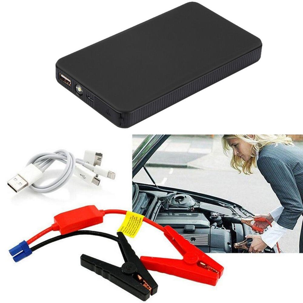 Car Jump Starter Portable Starting Device Lighter Power Bank Booster Battery Charger Portable Car Starter Lighter