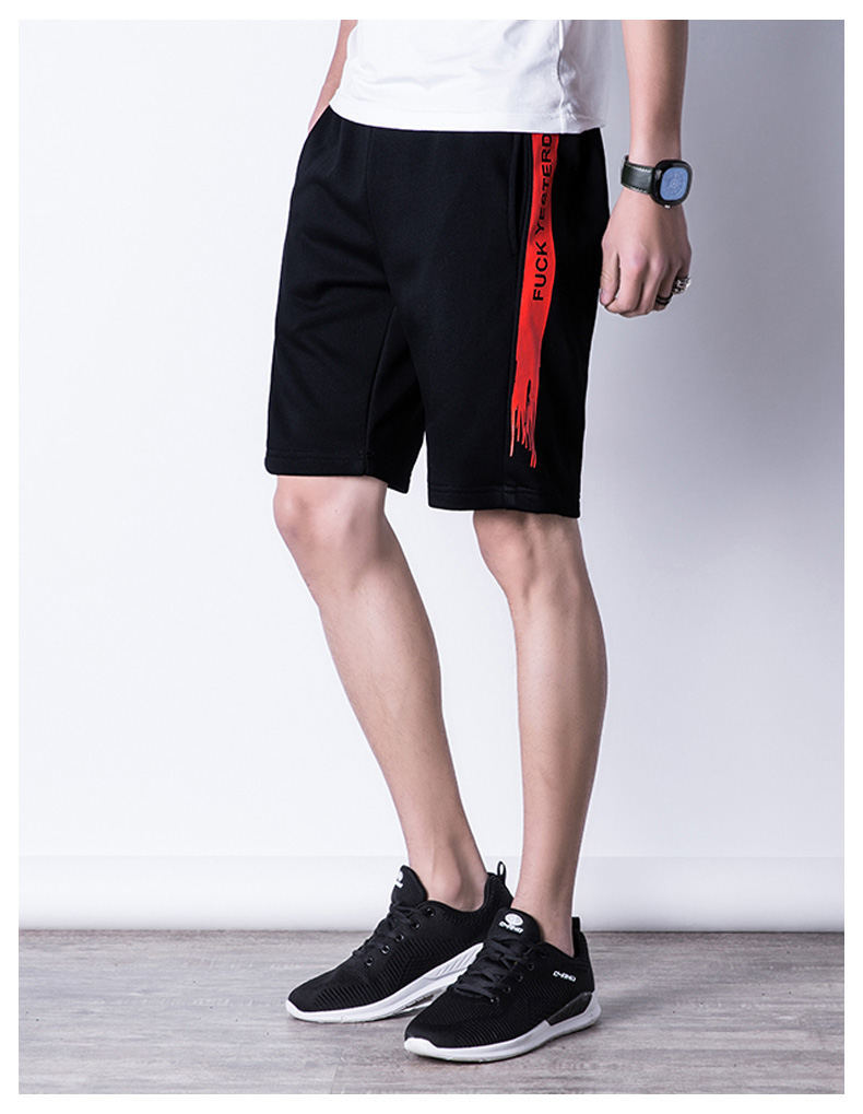Casual Shorts Men Summer Sports Shorts Quality Beach Male Short Pants Breathable Elastic Waist Fashion Plus Size 5XL Boardshorts 05