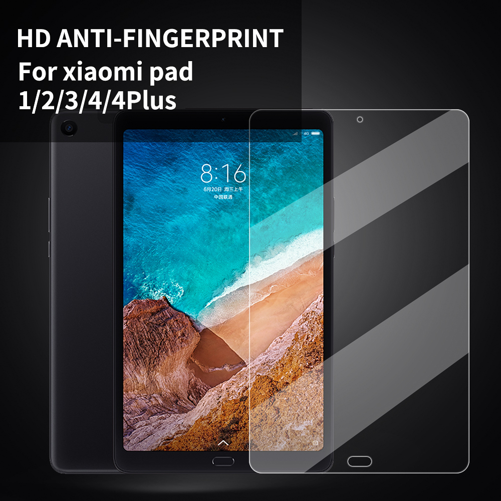 9H Tempered Glass Screen Protector For Xiaomi Mi Pad 4 8 Inch Mi Pad 4 Plus Screen Protector Protective Film For Mi Pad 3 2 1
