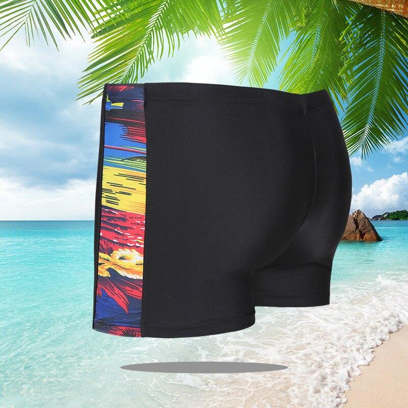New Style Men AussieBum Printed Designation Strip Men Hot Springs Beach Swimming Trunks