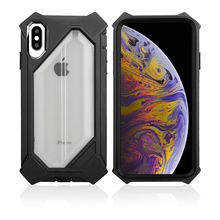 Luxury Armor Shockproof  Case for Iphone6s 6Plus 7 7Plus 8Plus X XR XSMAX and Soft transparent case
