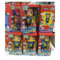 25cm Linda muñeca Luccas Neto figura de acción juguetes de vinilo modelo muñeca con sonido niños cumpleaños regalo de Navidad