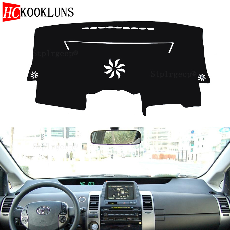 for <font><b>Toyota</b></font> Prius <font><b>20</b></font> 2004- 2009 XW20Dashboard Cover Sun Shade Non-slip Dash Mat Pad Carpet Car Stickers Interior Accessories image