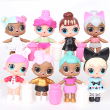 LOL Surprise Dolls Cute girls Silicone Can Spray Water Big Eyes Doll Toy Action Figures Anime Kids Toys for Children Gifts 2S58