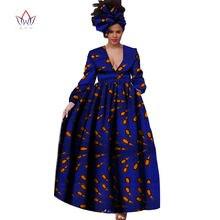 БРВ Африканский платье для Для женщин осень одежда с длинным