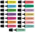 15 шт. Stabilo Boss хайлайтер Флуоресцентные Ручки оригинальный и пастельный цвет офисные и школьные принадлежности