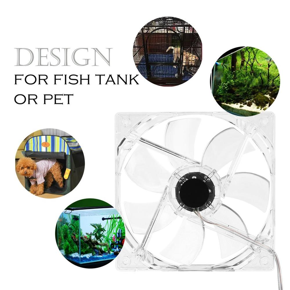High Quality Fish Tank Brushless Ultra Quiet Blower Cooling Fan Multi-purpose DIY PC Car Fish & Aquatic Pet Supplies