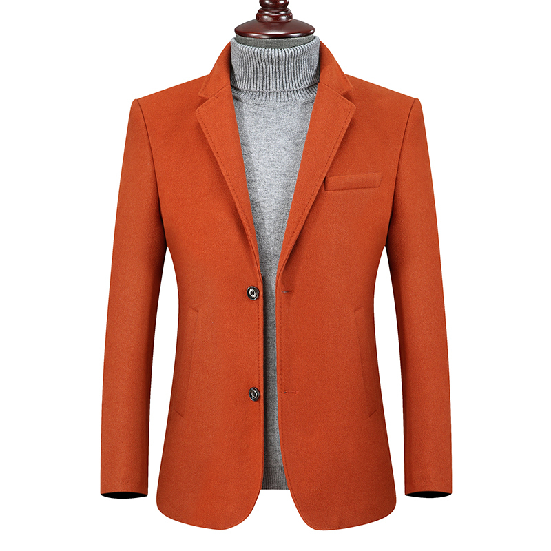 New Plus Size 8XL 7XL 6XL Wool Men Suits Tailor Made Luxury Fashion Smart Casual  Suits For Men Bespoke  Fashion Suit Jacket