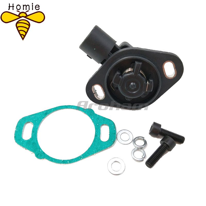 NEW TPS 16400P0AA50 16400P06A11 911753 Front Throttle Position Sensor For <font><b>Honda</b></font> Accord Civic <font><b>CR</b></font>-<font><b>V</b></font> CRX Prelude Acura Integra image