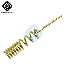 5 pièces GSM (2.5DBI) /GPRS antenne à ressort antenne hélicoïdale 0.8 outils en cuivre gras