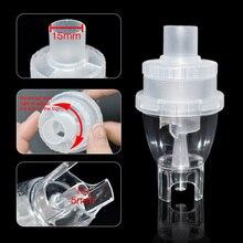 O inalador do copo do nebulizador do compressor do inalador do copo atomizou o equipamento médico do nebulizer parte o cateter para a criança adulta