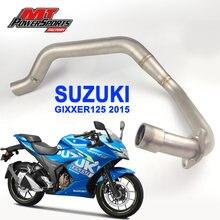 Suzuki gixxer125 2015 мотоциклетный глушитель выхлопной трубы