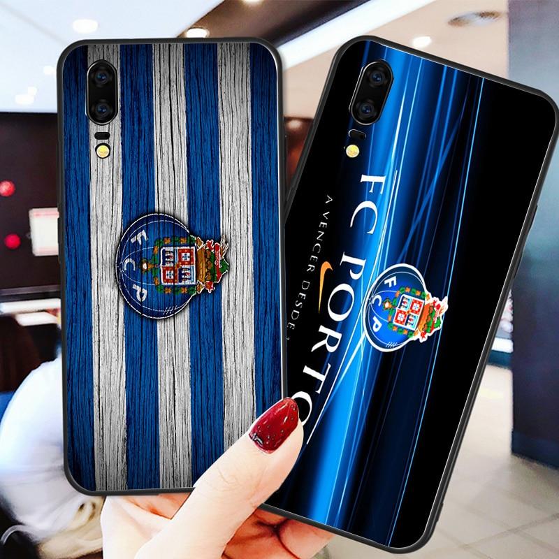 Yinuoda Phone Case For FC Porto Black Soft TPU For Porto Huawei DIY Picture Cover Mate 10 Pro P20 Pro P8 P9 Honor 9 8 Lite P30