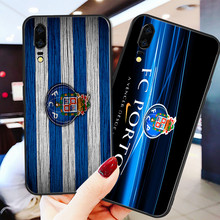 Yinuoda Phone Case For FC Porto Black Soft TPU For Porto Huawei DIY Picture Cover Mate 10 Pro P20 Pro P8 P9 Honor 9 8 Lite P30(China)