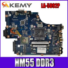NEW70 NV59C LA-5892P Para ACER Aspire 5741 5741G 5742 Gateway Laptop Motherboard MBPSV02001 HM55 DDR3 Notebook Mainboard