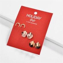 Joolim Christmas Gift Stud Earrings Set Jewelry Wholesale