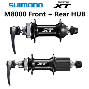 SHIMANO Hub Set DEORE XT FH BH M8000 HUB 32H Center Lock 9mm Hub&Quick Release Bike Hub Set