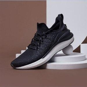Image 3 - حذاء شاومي مي جيا الرياضي الجديد لعام 2020 حذاء رياضة 4 للجري والمشي في الهواء الطلق خفيف الوزن قابل للتهوية 4D منسوج علوي قابل للغسل