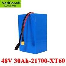 VariCore – batterie Lithium-ion 13S6P, 48V, 30ah, 21700 mah, 54.2 mah, pour Scooter, vélo électrique, avec Protection BMS