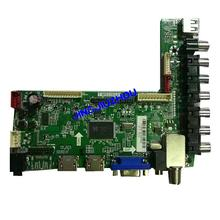 цена на Main Board of GPX U16082590 (T.MS3393.81) TDE5074BT460HB01 V0 T.MS3393.81 motherboard RCA RLDED4633A-C
