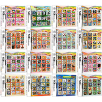 DS Video Game Cartridge Console Card Compilation All In 1 for Nintendo DS 3DS 2DS