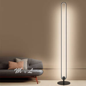 Floor-Lamps Standing-Lamp Living-Room Modern Bedroom Dimmable Minimalist Led Metal