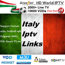 1 an IPTV Italia pour smart tv Enigma2 m3u MAG Android tv box support iptv italie abonnement espagne France allemagne pays-bas(China)