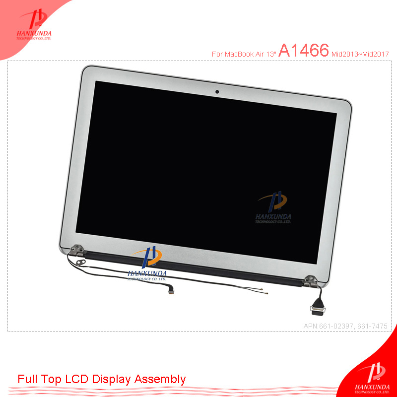 "Apple MacBook Air 13/"" A1466 Mid 2017 Complete Screen Assembly 661-7475 C"