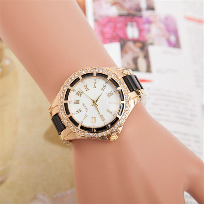 Women's Watches Luxury Diamond Quartz Wristwatches For Ladies Watches Female Clock Women Simple Casual Elegant Woman Wrist Watch