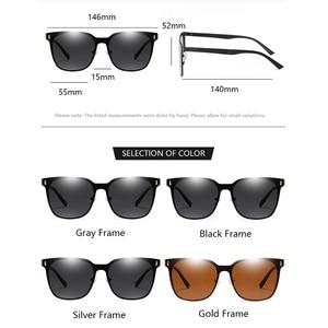 Image 5 - Kateluo 2020 Classic Vrouwen Oversized Zonnebril Gepolariseerde UV400 Lens Zonnebril Voor Vrouwen Glazen Voor Rijden 8033