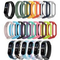 Correa de silicona para Xiaomi Mi Band 2, 3, 4, 5, 6, reloj de pulsera inteligente, de colores, 32 colores, nuevo