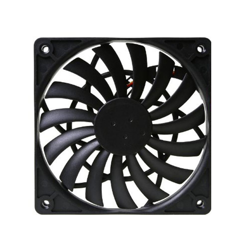 1pc Scythe PWM Temperature Control Fan Ultra Thin Cooler Fan SY1212SL12H P 4 Pin 12 * 12 * 1.2cm Replacement FanReplacement Parts & Accessories   -