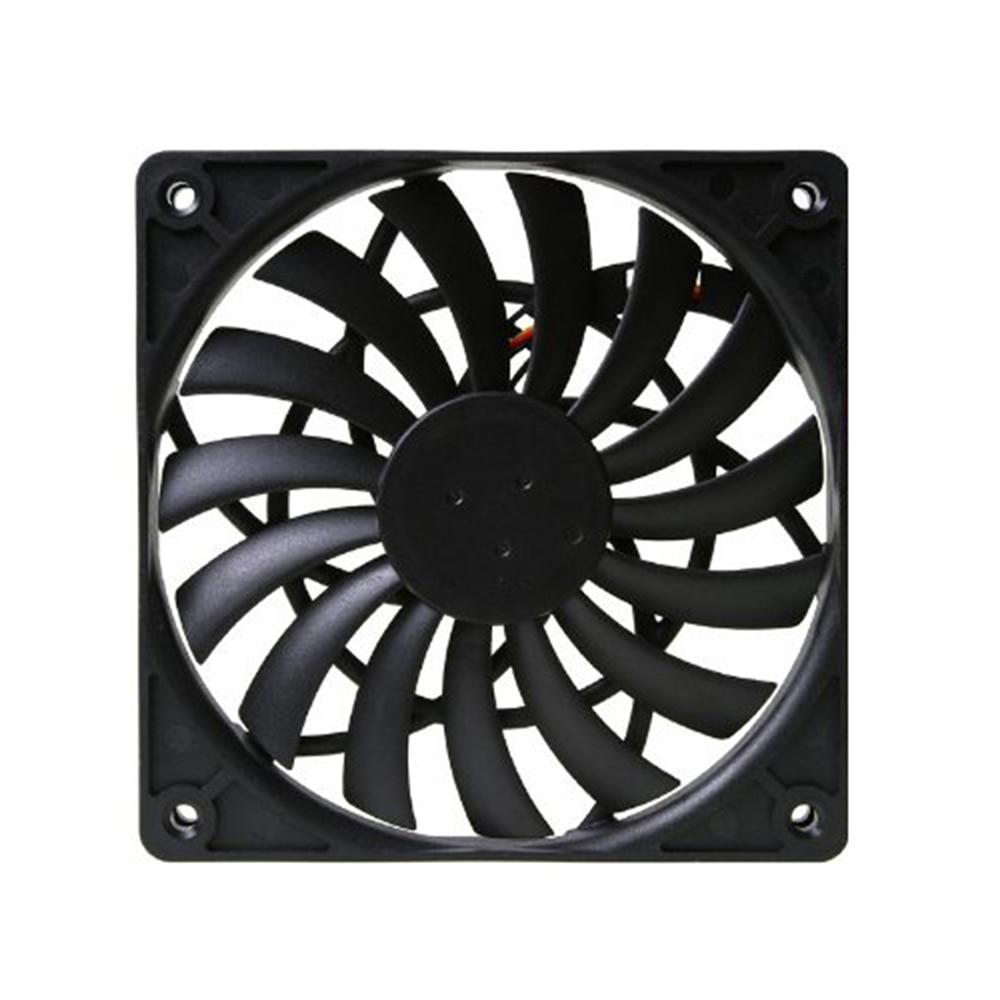 1pc Scythe PWM Temperature Control Fan Ultra Thin Cooler Fan SY1212SL12H-P 4 Pin 12 * 12 * 1.2cm Replacement Fan