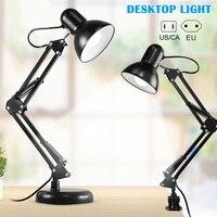 Adjustable Swing Arm Light Drafting Design Office Studio C Clamp Table Desk Lamp Home L9 #2