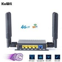 OpenWRT – routeur Wifi 4G sans fil CAT4 CPE débloqué, 300Mbps, avec Port USB, fente pour carte SD et antennes à Gain élevé 4*5dbi