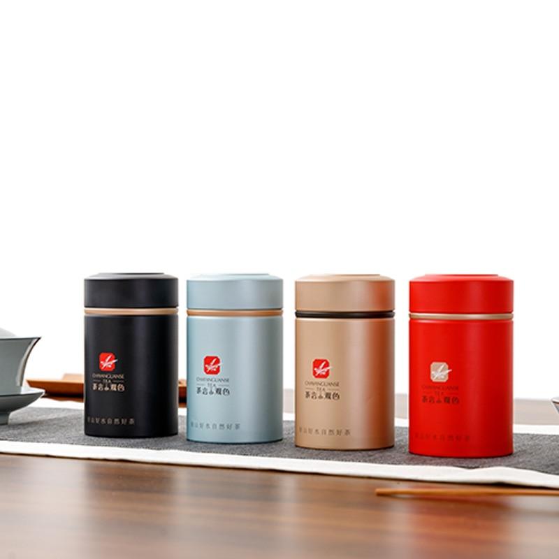 Xin Jia Yi Packaging Box   Metal Packaging Round Shape Tea Tin Box