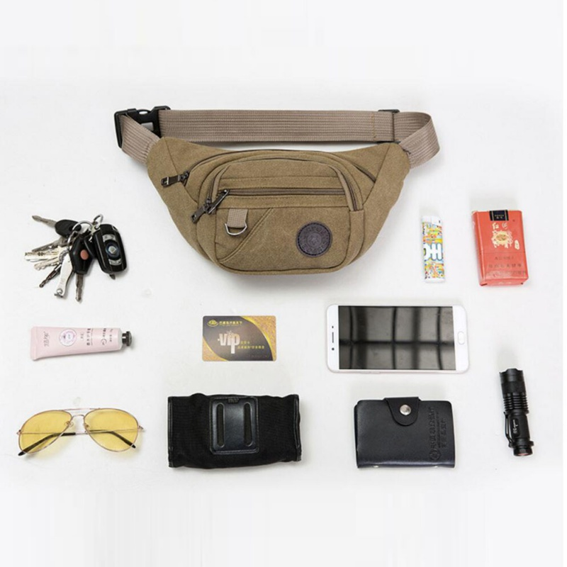 Men Women Waist Bags Sports Fanny Pack Running Hip Bum Bag Waist Packs For Hiking Cycling