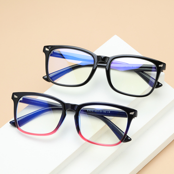 1PC Fashion Anti-Blu-ray Glasses Unisex Video Game Goggles Women Men Radiation Office Computer Glasses image