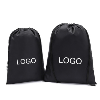 Water Proof Polyester Oxford Drawstring Bag Travel Organizer Move Home Clothes Shoes Toys Storage Bags Packaging