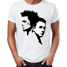 Marvel Men T Shirts Fight Club Soap You Do Not Talk about Fight Club Artsy Awesome Artwork Printed Tee(China)