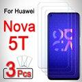 3 шт. для huawei nova 5 t защита экрана 5 t t5 бронированное защитное стекло на wuawei huawai huawie nova5 t nova5t закаленное стекло